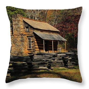 John Oliver Place Throw Pillow