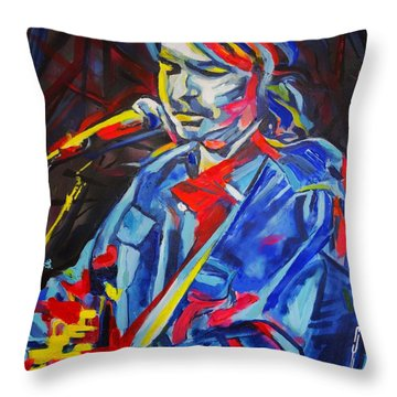 John Prine #3 Throw Pillow
