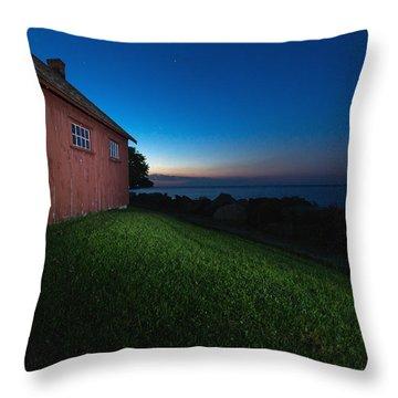 John R. Park Homestead - Sunrise Throw Pillow