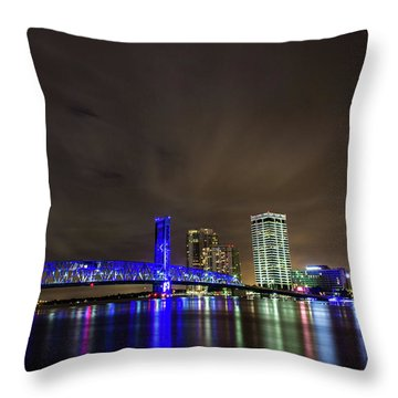 John T. Alsop Bridge Throw Pillow