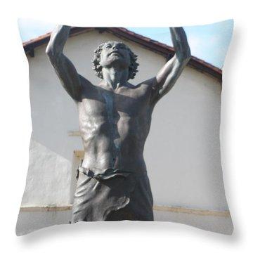 John The Babtist Throw Pillow