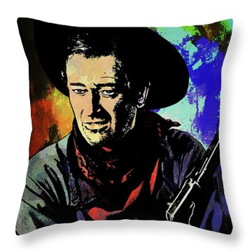 John Wayne, Throw Pillow