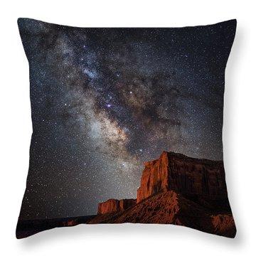 John Wayne Point Throw Pillow by Darren White
