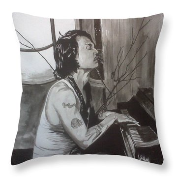 Johnny Depp 1 Throw Pillow