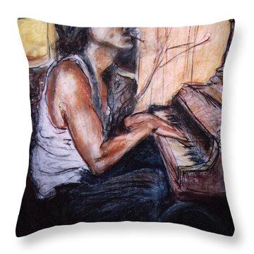 Johnny Throw Pillow