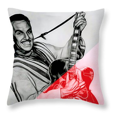 Johnny Otis Collection Throw Pillow
