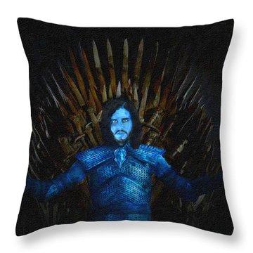 Johnny Walker Throw Pillow