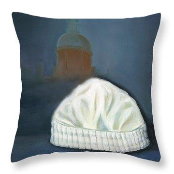 Johns Hopkins University School Of Nursing Throw Pillow by Marlyn Boyd