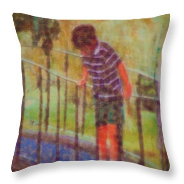 John's Reflection Throw Pillow