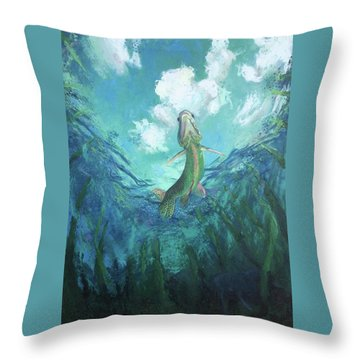 Joi De Vivre Throw Pillow
