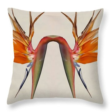 Joined At The Hip Throw Pillow