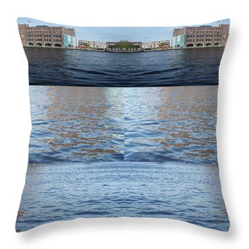Joiner Sea Throw Pillow