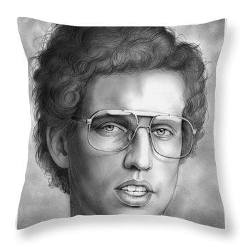 Jon Heder Throw Pillow