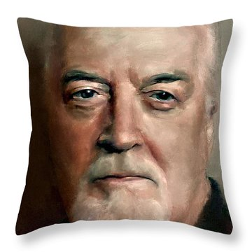 Jon Lord Deep Purple Portrait 8 Throw Pillow