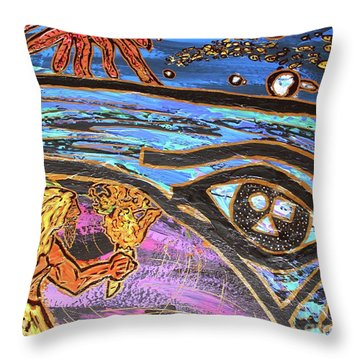 Jonah One Of Those Days Throw Pillow