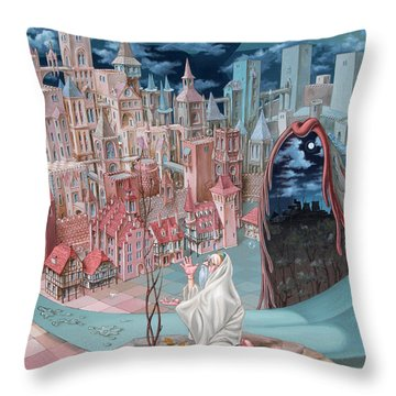 Jonah  Throw Pillow