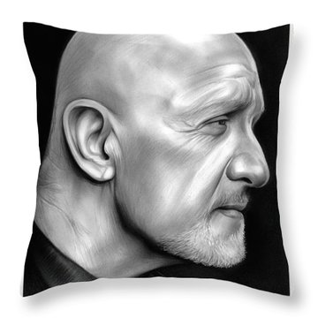 Jonathan Banks Throw Pillow