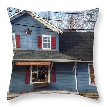 Jones Hardware, A Pequannock Legend Throw Pillow