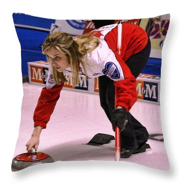 Jones In The Hack Throw Pillow