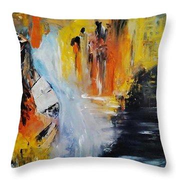 Jordan River Throw Pillow