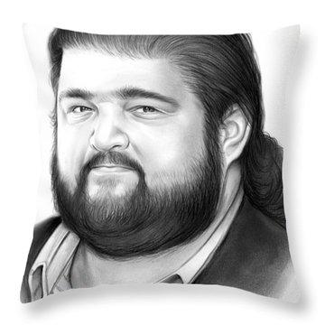 Jorge Garcia Throw Pillow
