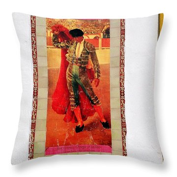 Jose Gomez Ortega Throw Pillow