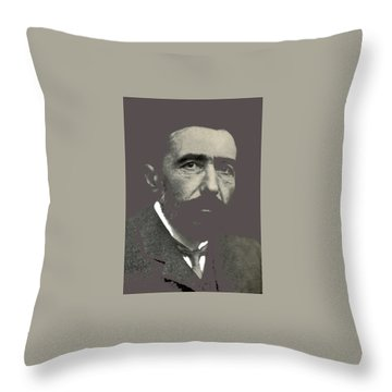 Joseph Conrad George Charles Beresford Photo 1904-2015 Throw Pillow