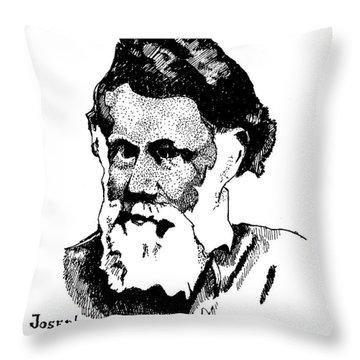 Joseph Gale Throw Pillow