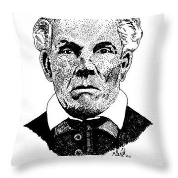 Joseph R. Walker .ca Throw Pillow