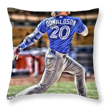 Josh Hamilton Throw Pillows