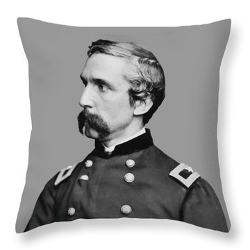Joshua Lawrence Chamberlain Throw Pillow