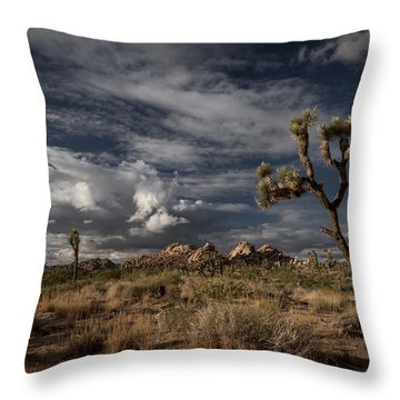 Joshua Tree Fantasy Throw Pillow
