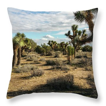 Joshua Tree's Throw Pillow