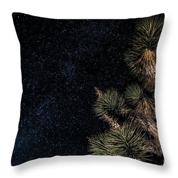 Joshua's Stars Throw Pillow