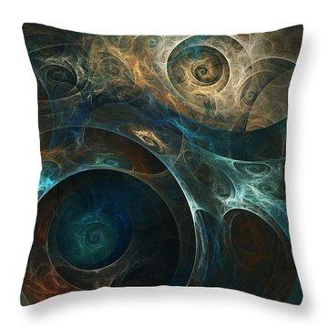 Journey Throw Pillow by David Lane