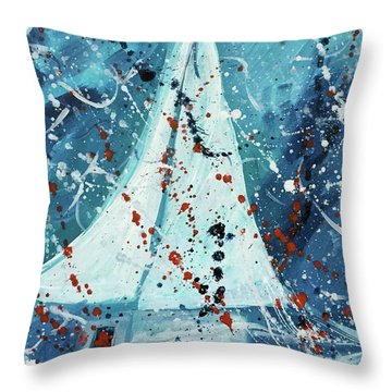 Journey I Throw Pillow