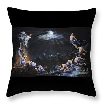 Journey Into Self Throw Pillow