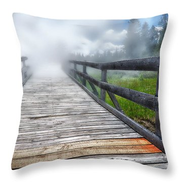 Journey Into The Unknown Throw Pillow