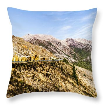 Journey Into The Wild West Throw Pillow