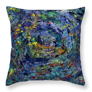 Journey Into You Throw Pillow