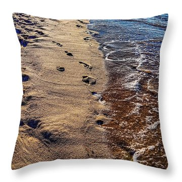 Throw Pillow featuring the photograph Journey by Kendall McKernon