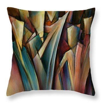 Journey Throw Pillow by Michael Lang