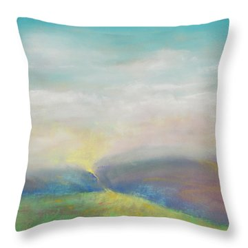 Journey Of Hope Throw Pillow