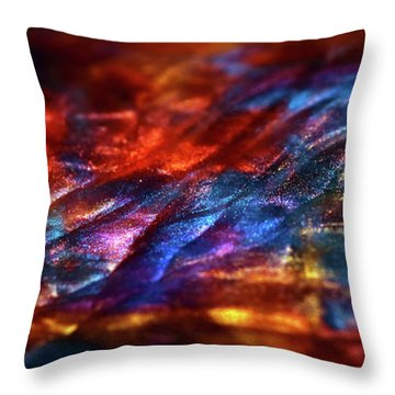 Journey Of Riches Throw Pillow
