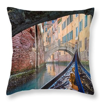 Journey Through Dreams Throw Pillow