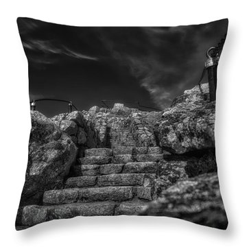 Journey To The Top Throw Pillow