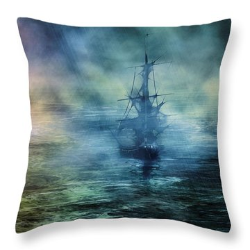 Journey To The Uknown II Throw Pillow