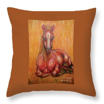 Journeyscape-dawn Of Awareness Throw Pillow
