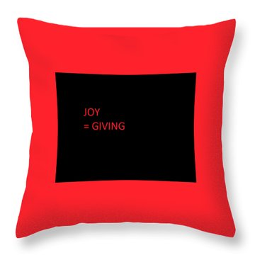 Throw Pillow featuring the photograph JOY by Aaron Martens