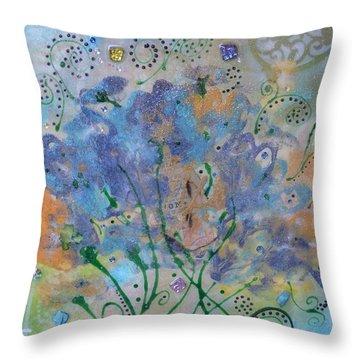 Joy By Mimi Stirn Throw Pillow